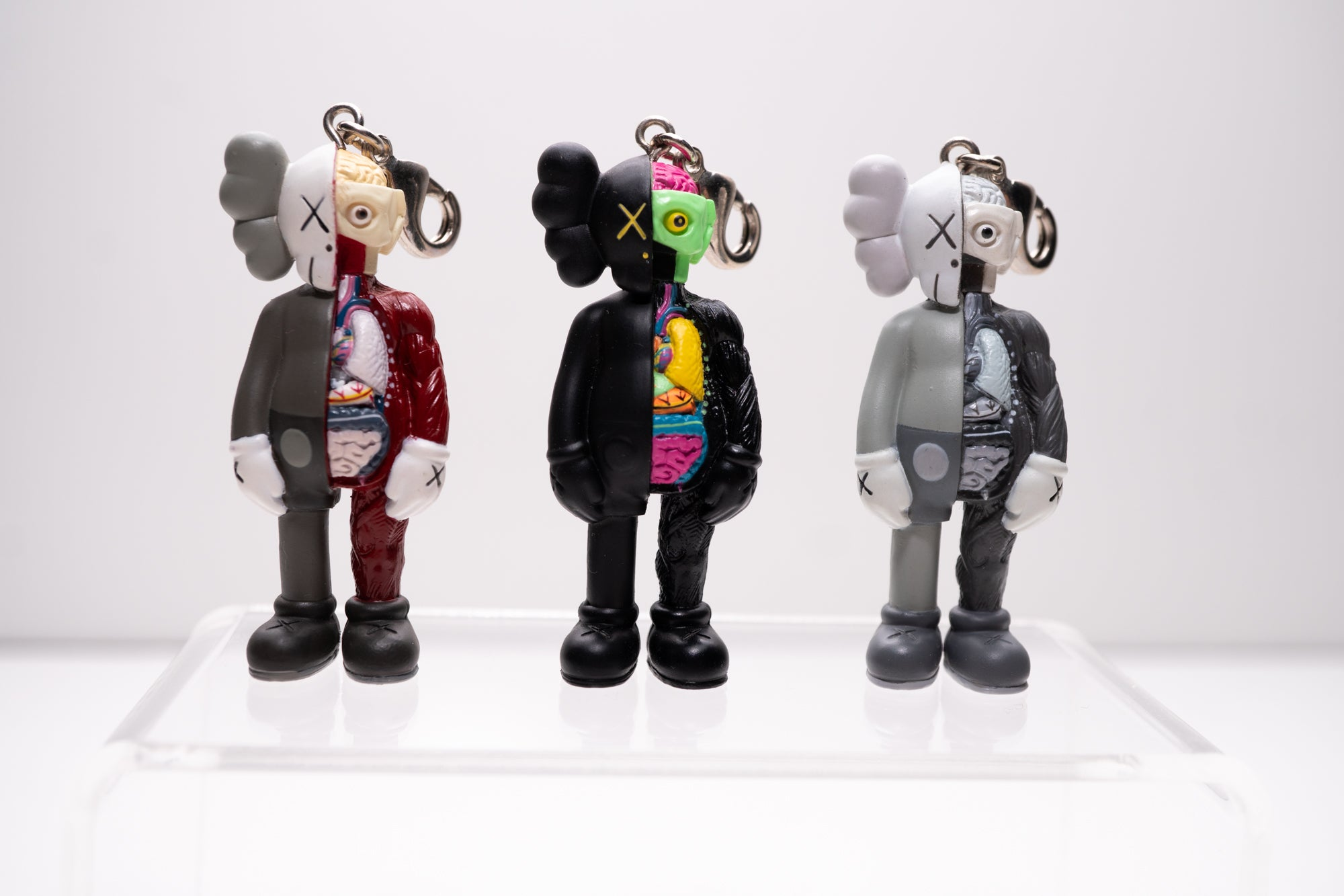 """Dissected Companion"" Keychain Set by KAWS x Original Fake"