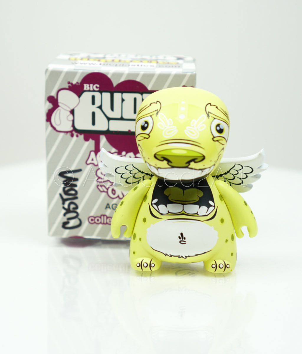 "3"" Bic Buddy (Series 1) Signed Artist Proof by Scribe x BIC PLASTICS"