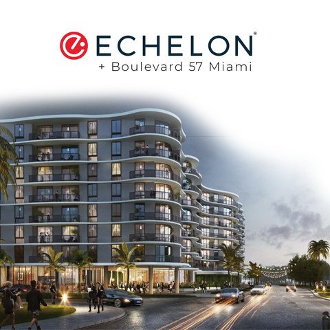 Echelon + Blvd 57 main building rendering