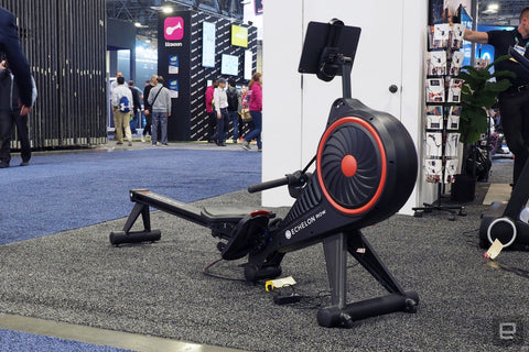 Echelon Rower at CES