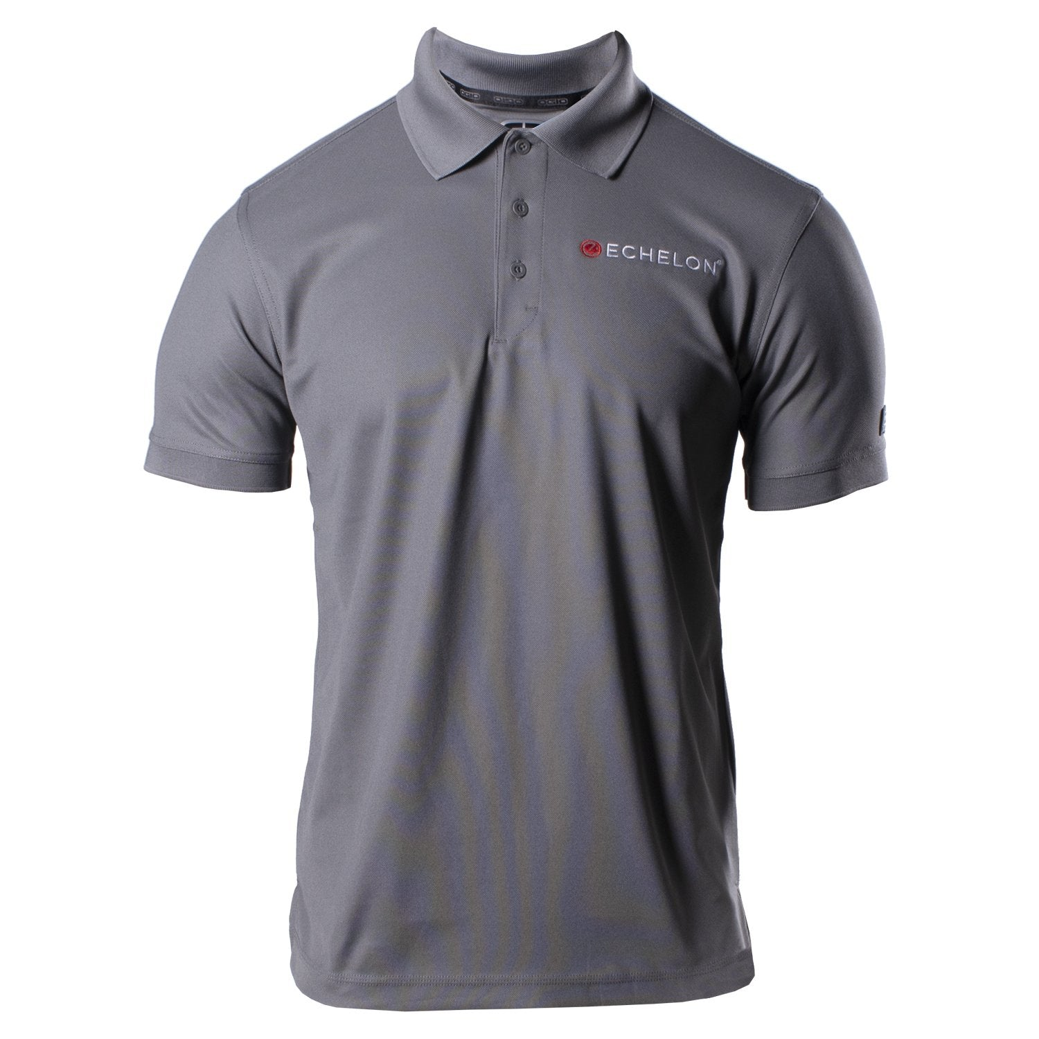 Echelon Men's Classic Embroidered Polo Shirt - Echelon Fit US