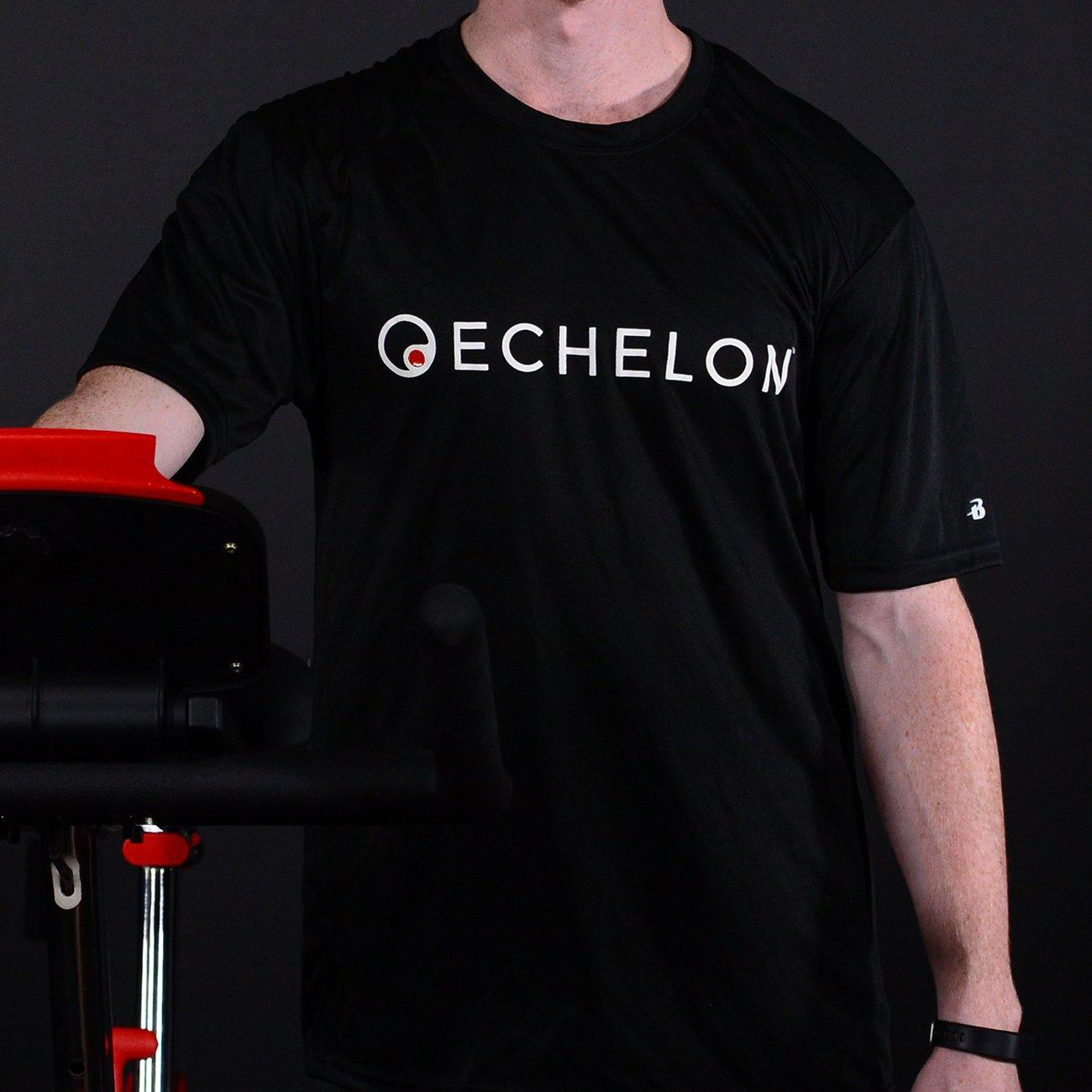 Echelon - Black Sports Tee Shirt