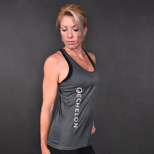 Echelon - Grey Sports Tank Top