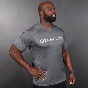 Echelon - Grey Sports Tee Shirt