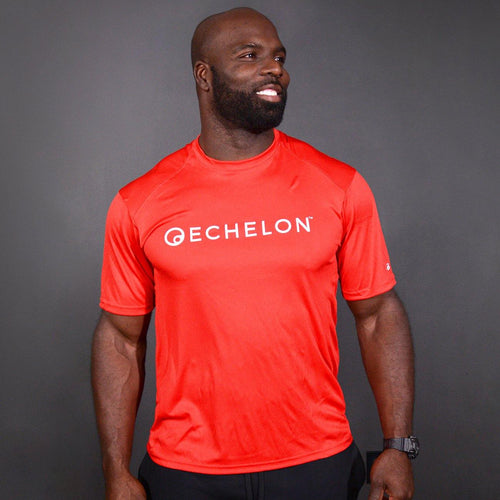 Echelon - Red Sports Tee Shirt