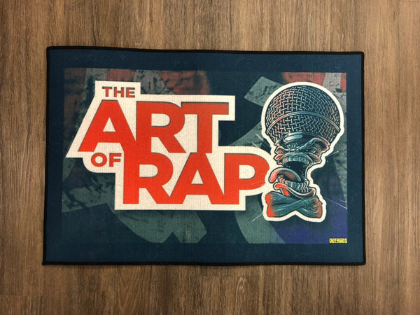 The official Art Of Rap tour rug