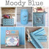Moody Blue Milk Paint