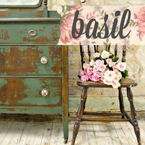 Basil Milk Paint