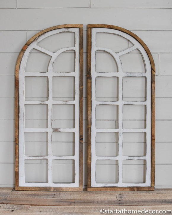 Arched Half Window