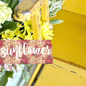 Sunflower Milk Paint
