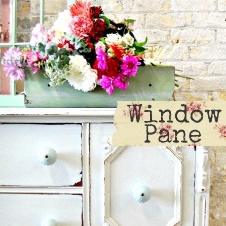 Window Pane Milk Paint