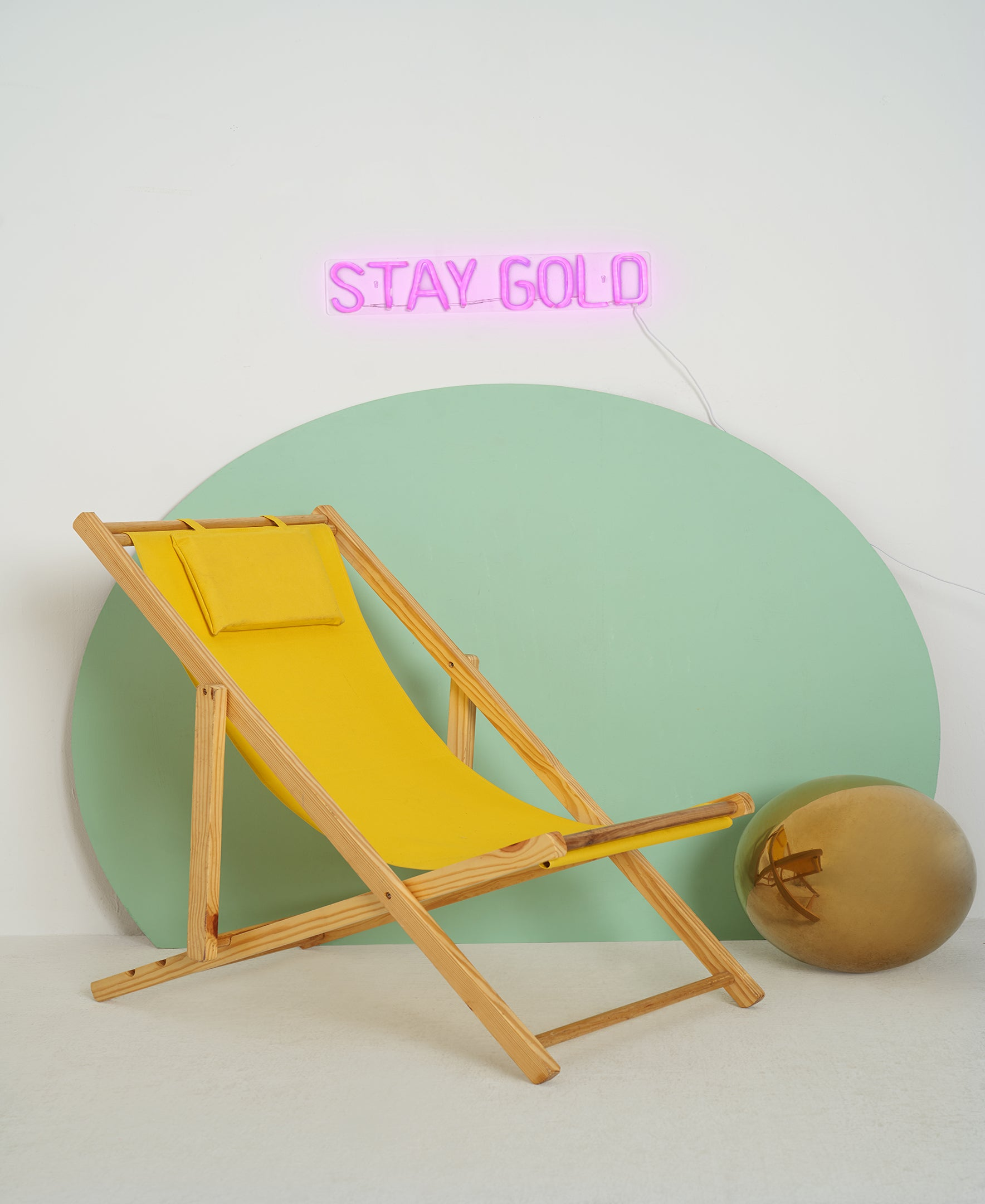 STAY GOLD LED Neon Wall Sign - Cocus Pocus
