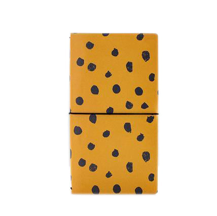 Patterned Travel Notebook - Cocus Pocus