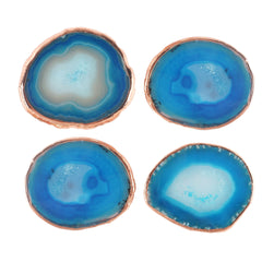 Set of Four Agate Coasters