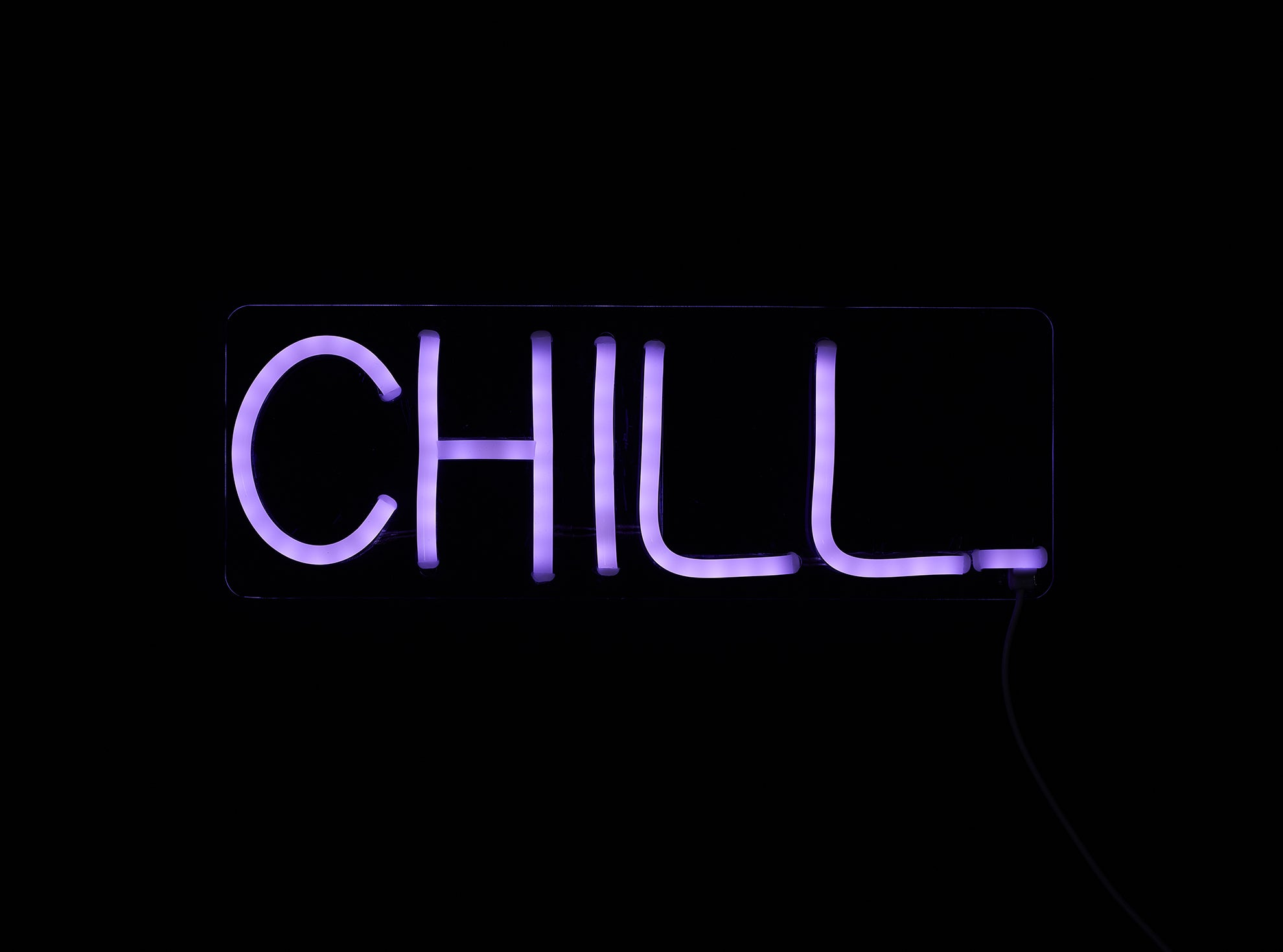 CHILL LED Neon Wall Sign - Cocus Pocus