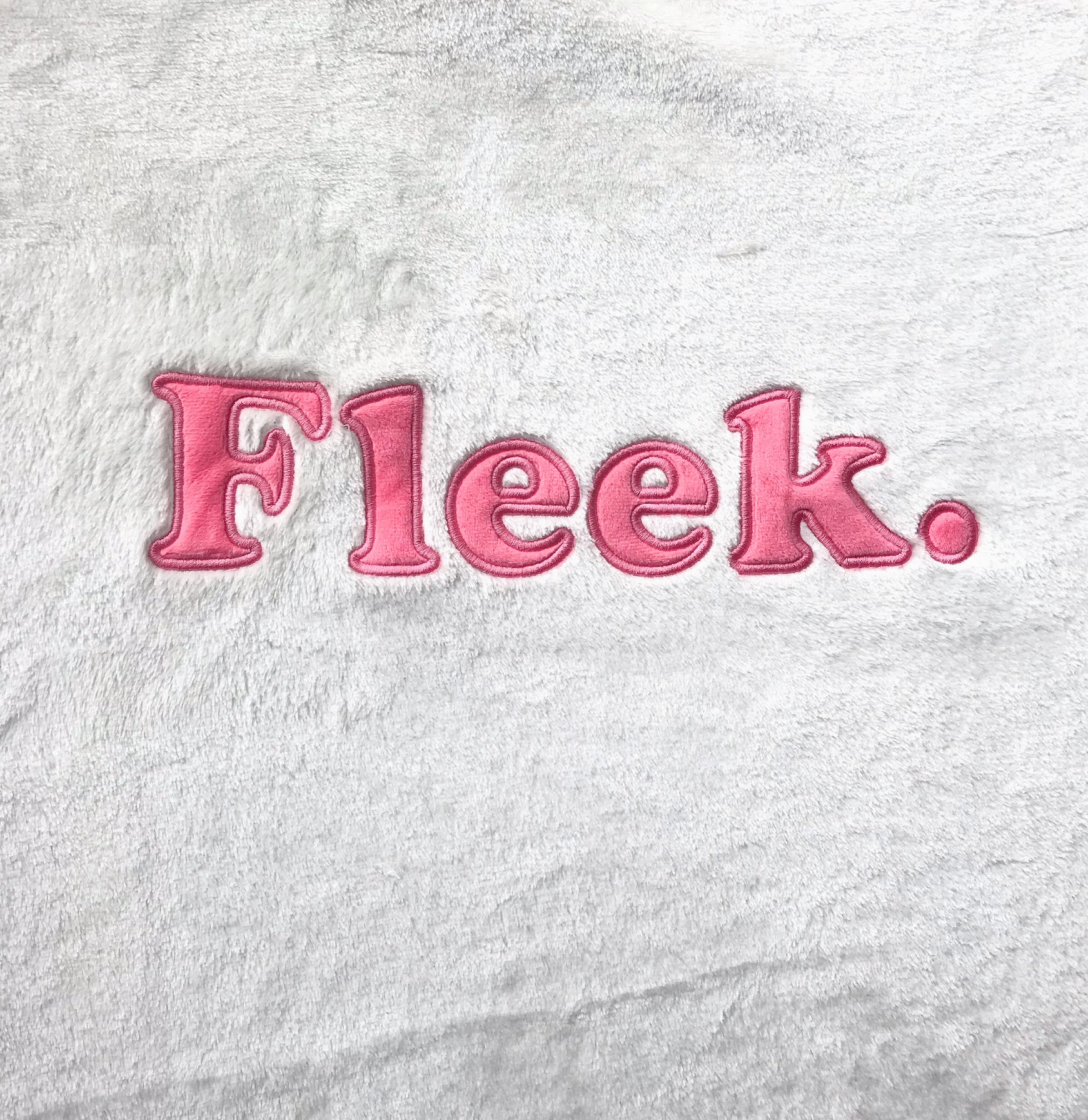 Fleek. Embellished Fleece Blanket - Cocus Pocus