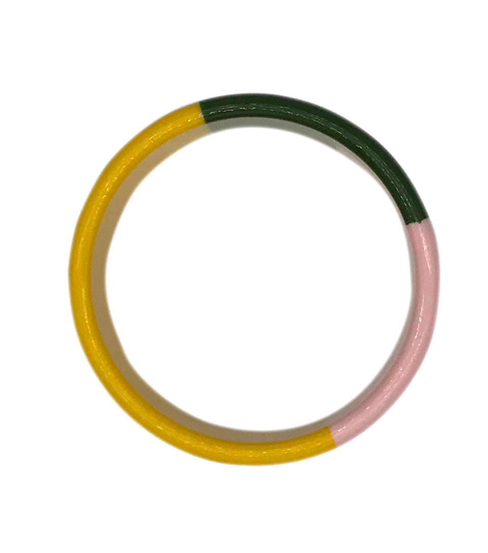 Tri-Color Resin Bracelet - Cocus Pocus