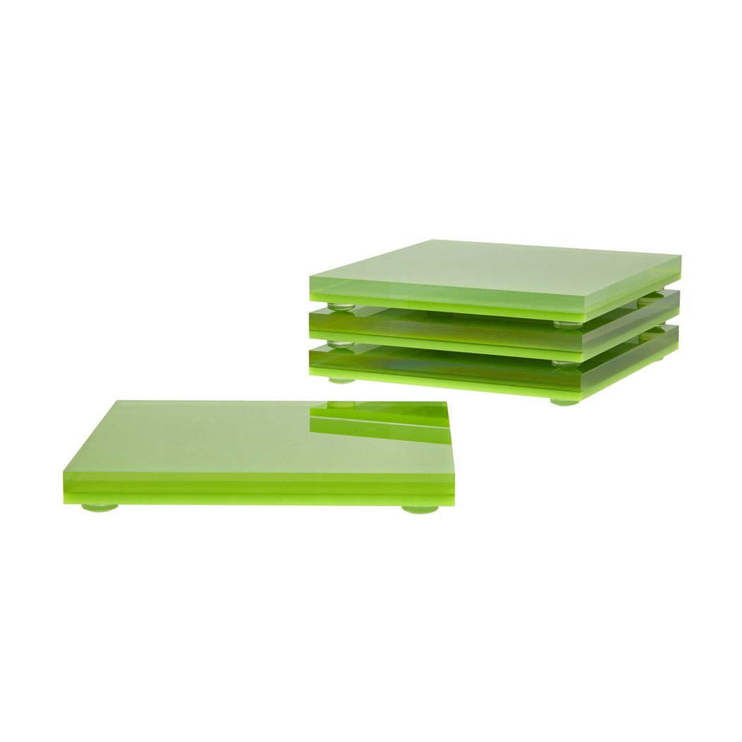 Set of Four Acrylic Coasters - Cocus Pocus