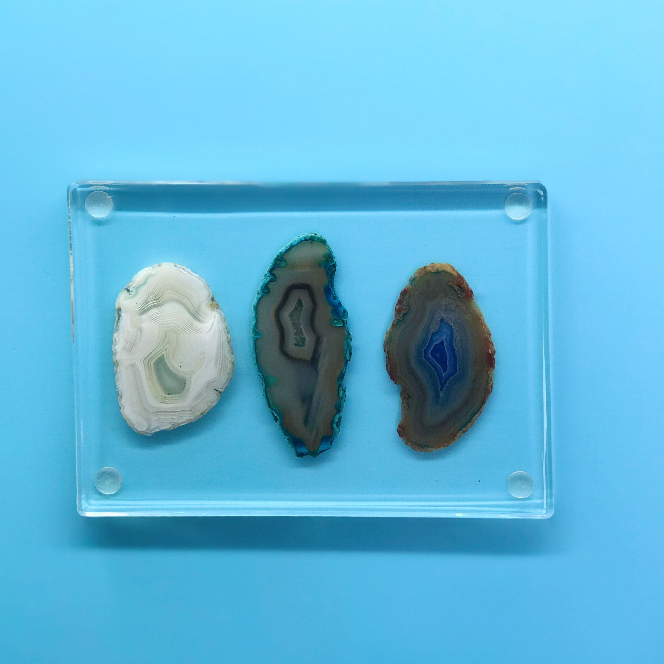 Natural Agate & Resin Tray - Cocus Pocus