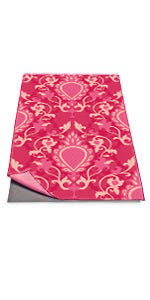 Carpet Print Yoga Towel - Cocus Pocus