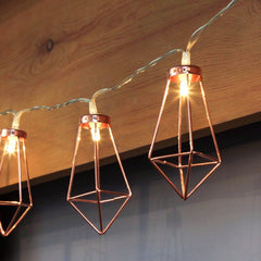 Rose Gold Fairy Lights - Cocus Pocus