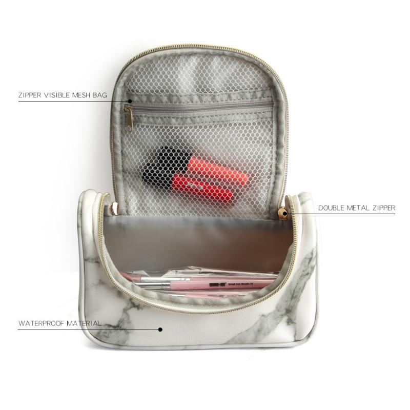 Waterproof Marble Cosmetic Bag - Cocus Pocus