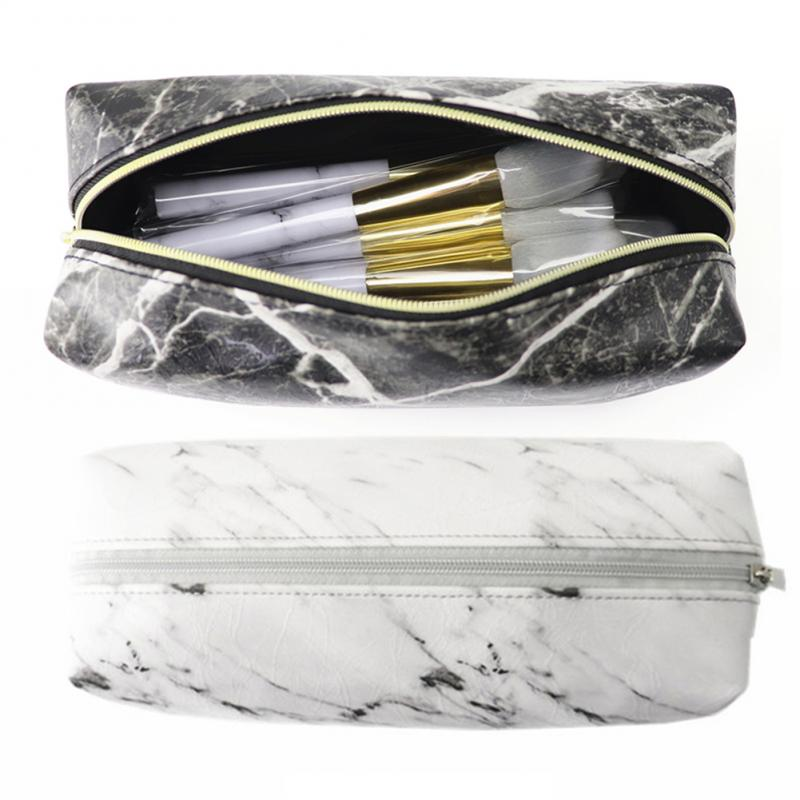 Marble Makeup Brush Pouch - Cocus Pocus