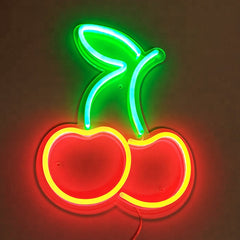 Cherry LED Neon Wall Sign