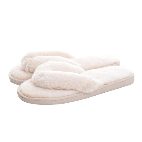 Faux-Fur Slippers - Cocus Pocus