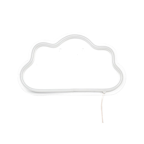 Blue LED Cloud Neon Sign - Cocus Pocus