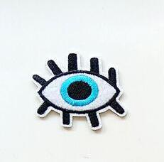 Evil Eye Patch with Double Lashes - Cocus Pocus
