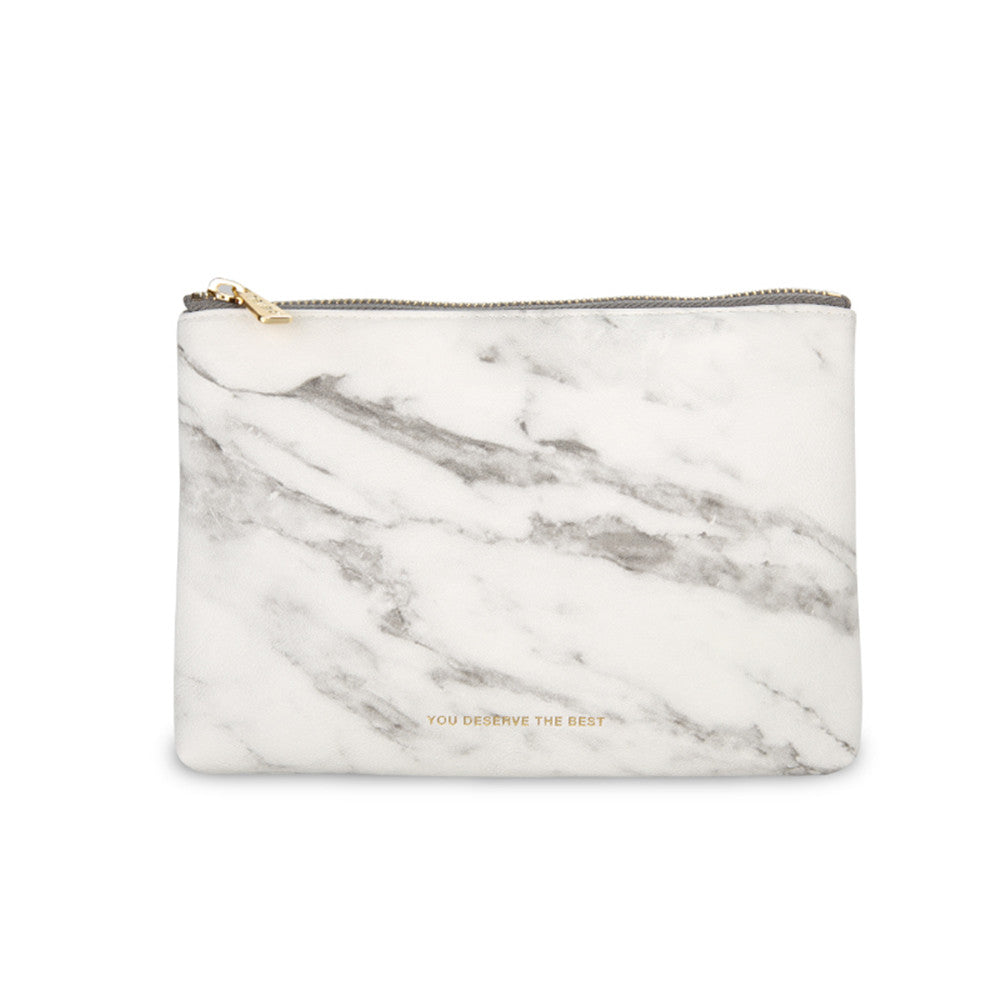 Marble Cosmetic Bag - Cocus Pocus
