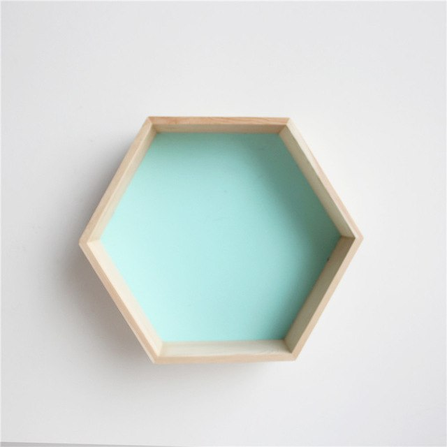 Hexagonal Wall Shelf - Cocus Pocus
