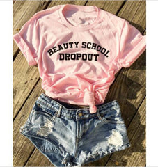 Beauty School Dropout T-shirt - Cocus Pocus