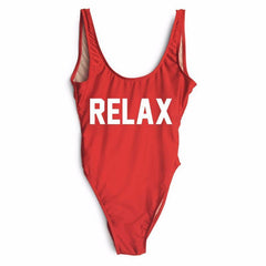 RELAX One Piece Swimsuit - Cocus Pocus