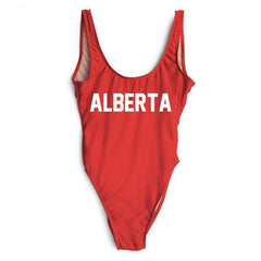 ALBERTA One Piece Swimsuit - Cocus Pocus