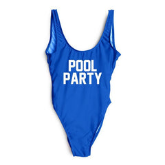 POOL PARTY One Piece Swimsuit - Cocus Pocus