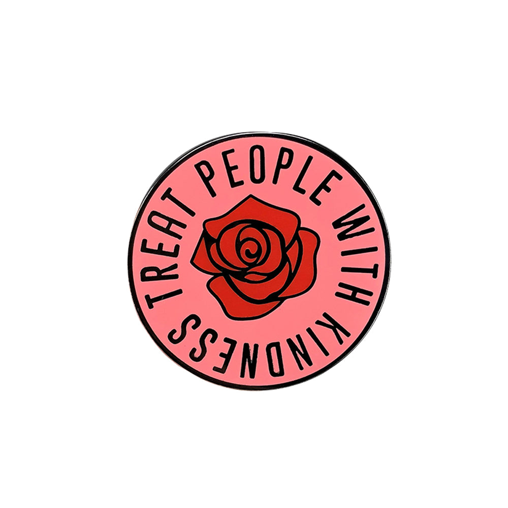 Treat People with Kindness Enamel Pin - Cocus Pocus