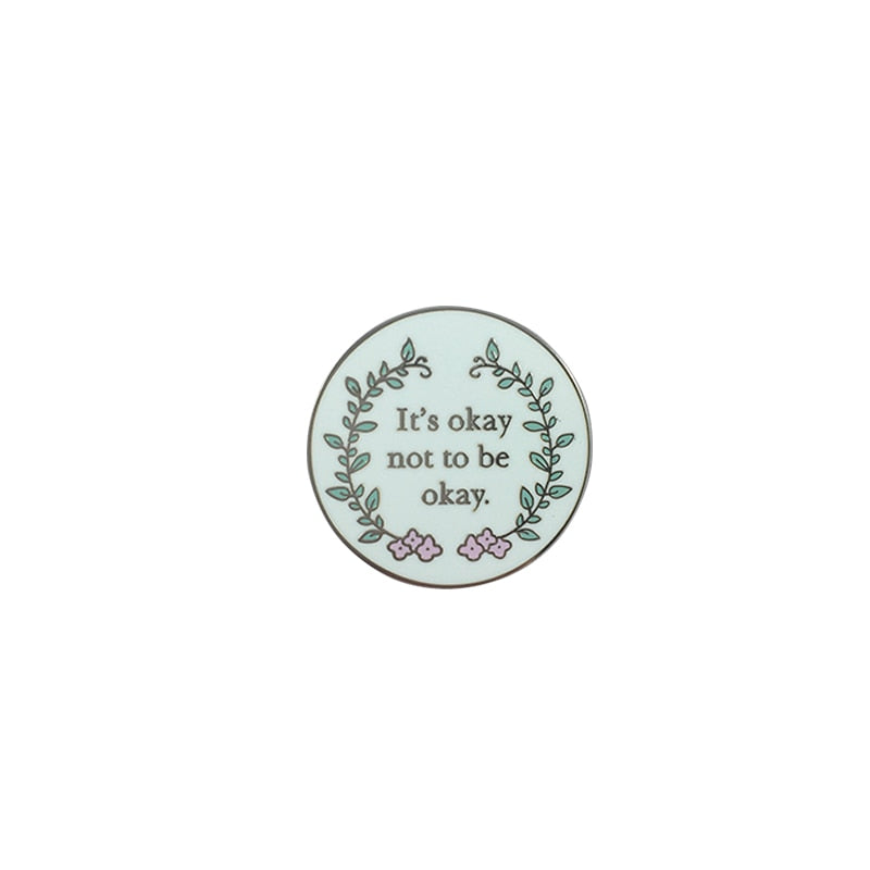 It's Okay not to be Okay Enamel Pin - Cocus Pocus