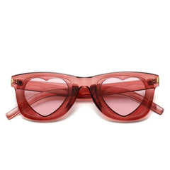 Heart Shaped Lense Sunglasses - Cocus Pocus