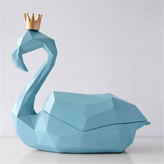 Swan Tissue Box Cover - Cocus Pocus