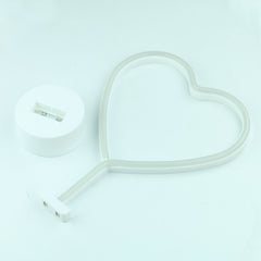 Heart Neon LED Desktop Lamp - Cocus Pocus