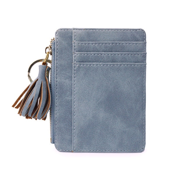 Mini Tassel Card Holder - Cocus Pocus