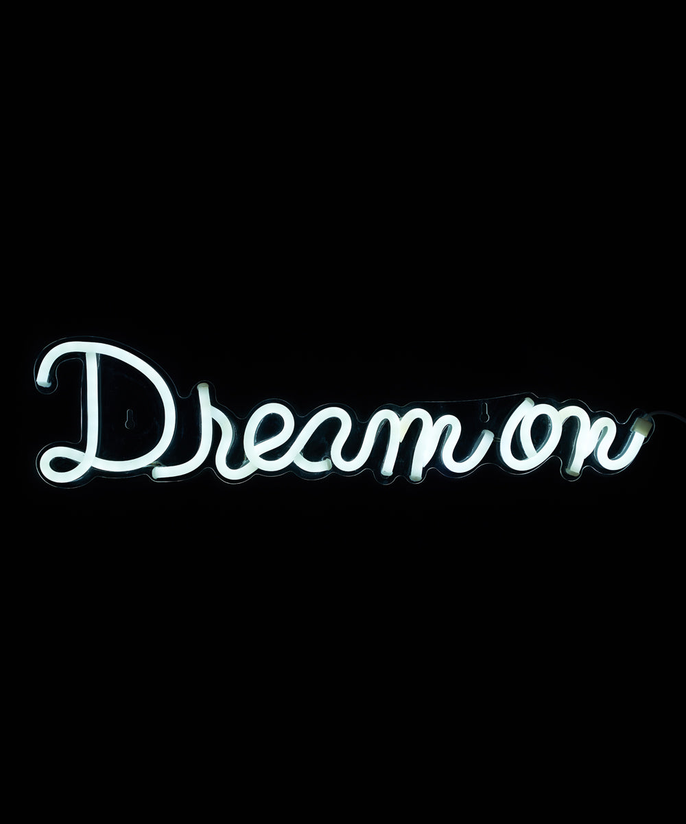 Dream On LED Neon Wall Sign - Cocus Pocus