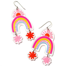 Rainbows in Spring Earrings