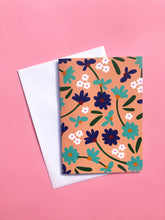 Art Floral A6 Greeting Card