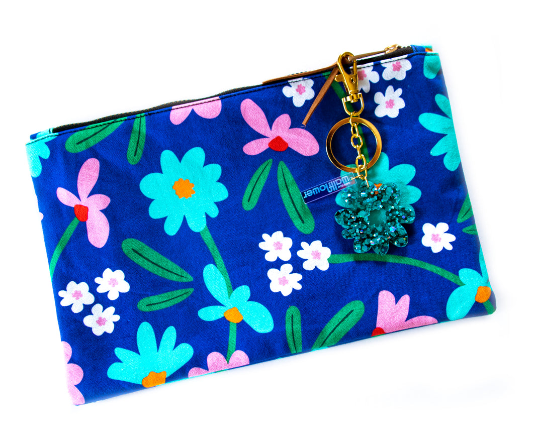 Art Floral Clutch Purse