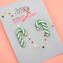 Candy Cane Statement Studs (3 colour options)