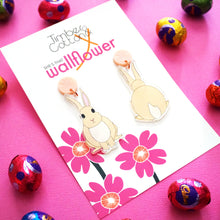 Chloe the Cream Bunny Earrings