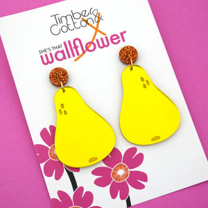 Pair of Pears Dangles